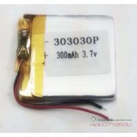 Аккумулятор HST 303030 3.7V 300mAh